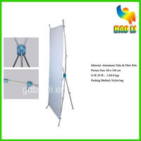 Good marketing hot sale banner display stand