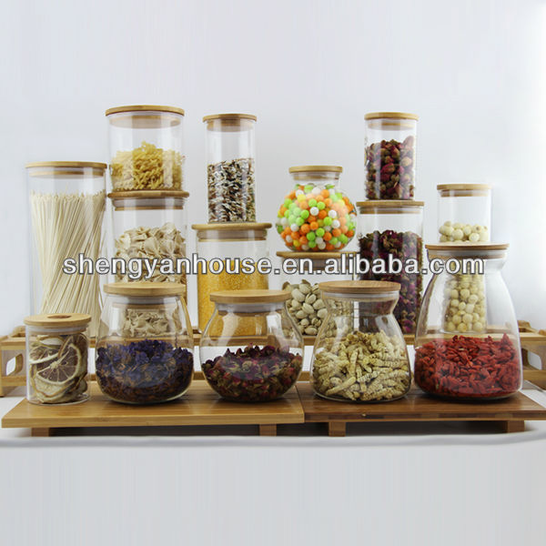Kitchen Storage flour canisters