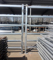 Heavy Duty Galvanized 80*40mm Oval Rail Cattle Panel