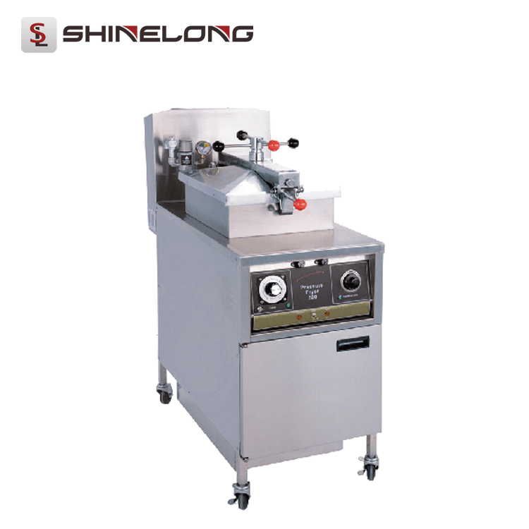 K531 Commercial Stainless Steel Electric Chicken Pressure Fryer Wholesale From SHINELONG