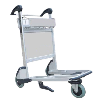 Airport luggage cart lightweight aluminum foldable folding luggage trolley