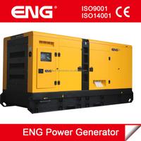 diesel genset silent type generator 500kw with Cummins engine KTAA19-G6A