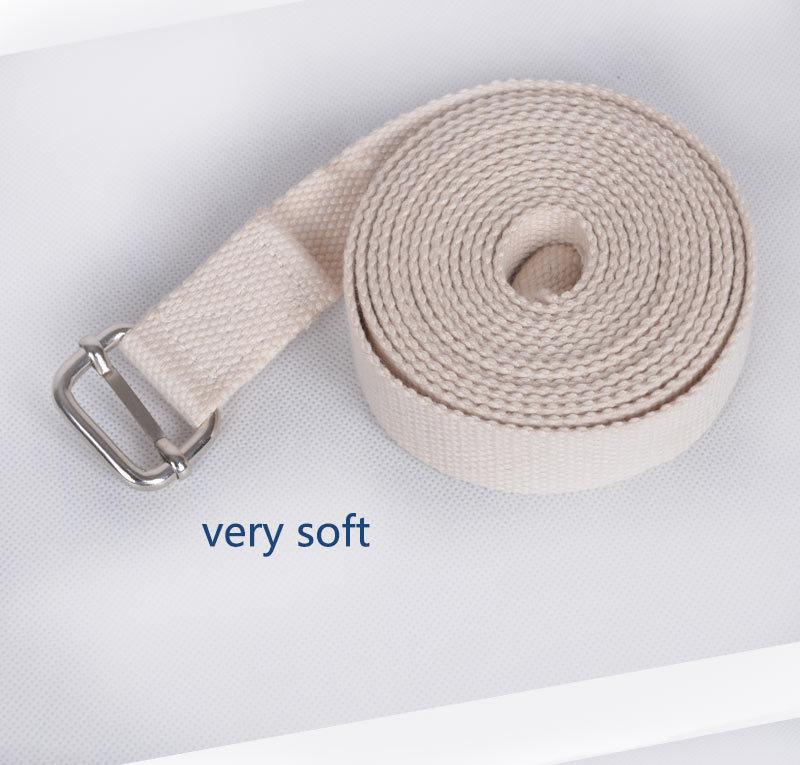 sunframe exercise Yoga Strap very soft yoga strap yoga tool welcome OEM brand
