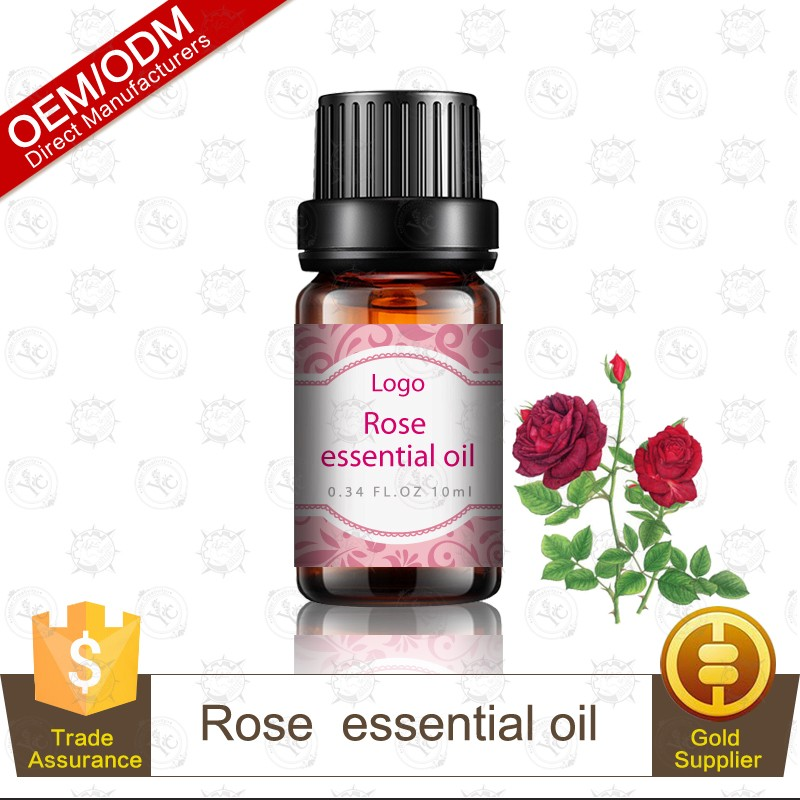 Spring is Coming Flower Collection Thyme Rose Rosemary Geranium Lavender Chamomile Natural Essential Oil Gift Set