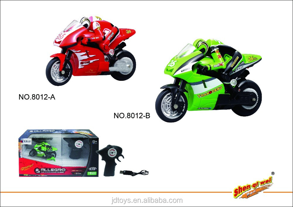 Hot Sale FJDTOYS Plastic Toy Motorcycle 2.4G 4CH Remote Control Toys RC Car Made in China