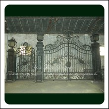 Beautiful And Cheap Wrought Iron Gate And Main Courtyard Gates