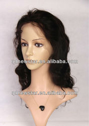 human brazilian hair lace front wig for african