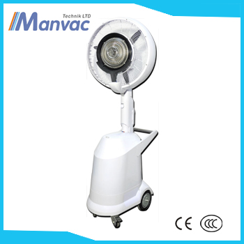 Manvac New design D-6C Portable 18 Inch centrifugal mist fan air cooler water fan