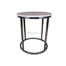 factory hot sell coffee tea table outdoor small marble top table