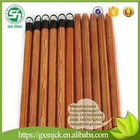 dowels wooden mop stick plastic end cap