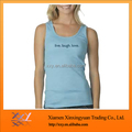 2014 hot sale light blue women's casual tank top wholesale