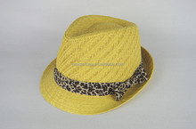Straw hat - Bleached Grass