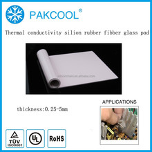 china chemical thermally conducitity silicone rubber filler with GPU usage