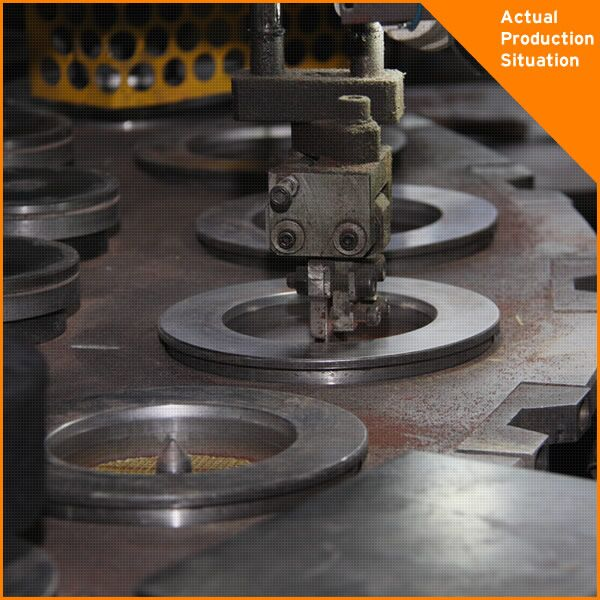 180x6x22.2mm Resin bonded abrasive grinding wheel production line