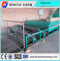 High Quality PVC Coated Mesh Line Equipment/Wire Mesh Rolls Coated Production Line