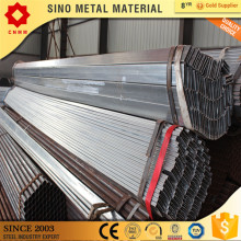 bs1387 pre gi tube suqare steel en 10210 s355j2h galvanized seamless square pipe