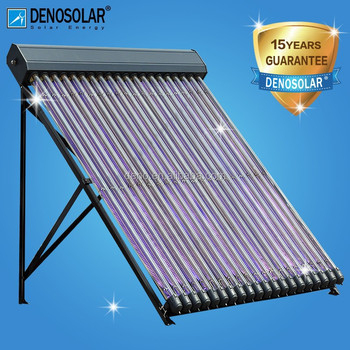 DENO High Efficiency 70*2000mm Metal&Glass Tube Solar Collector