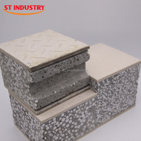 Good Insulation Low Cost Prefabricated Sandwich