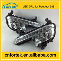 New product Car Accessory Flexible Daytime Running Light Specific Led DRL for Peugeot 508 Auto Parts China