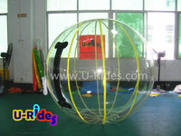 PVC colorful inflatable water ball/giant water bubble ball