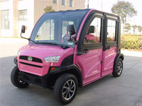 4 seats small electric mini car made in China
