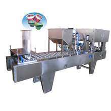 4/6/8 nozzle jelly cup sealing machine filling packing machine ,4000-10000cups/hour with date printer