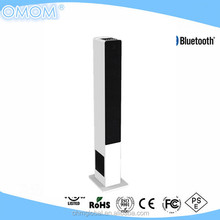 OHM-4000 2.1CH floor standing bluetooth tower speaker integrated subwoofer