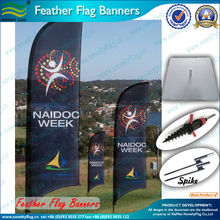 2016 outdoor promotion feather flag