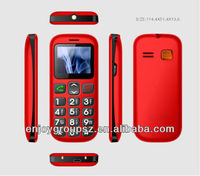 W76 1.77 Inch Dual Sim Bluetooth 3G senior mobile phone without camera big keyboard mobile phone for elderly