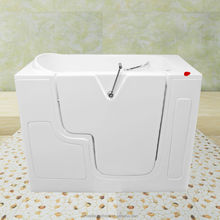 wheelchair outward door of walk in bathtub with seat for elders or disabled person with combo massage CWBT3052