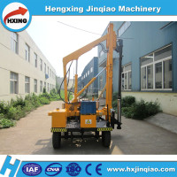 China machinery Boring machine kelly driver drilling equipment wheeled pile driver