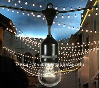 E26 E27 outdoor string light