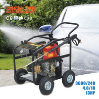 High Quality Cheap 200 bar high pressure washer gym floor cleaning machine 9hp portale high pressure washing machine