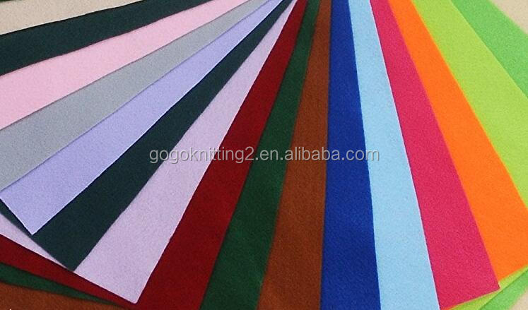 DIY Polyester Felt Nonwoven Fabric Sheet for Craft Work