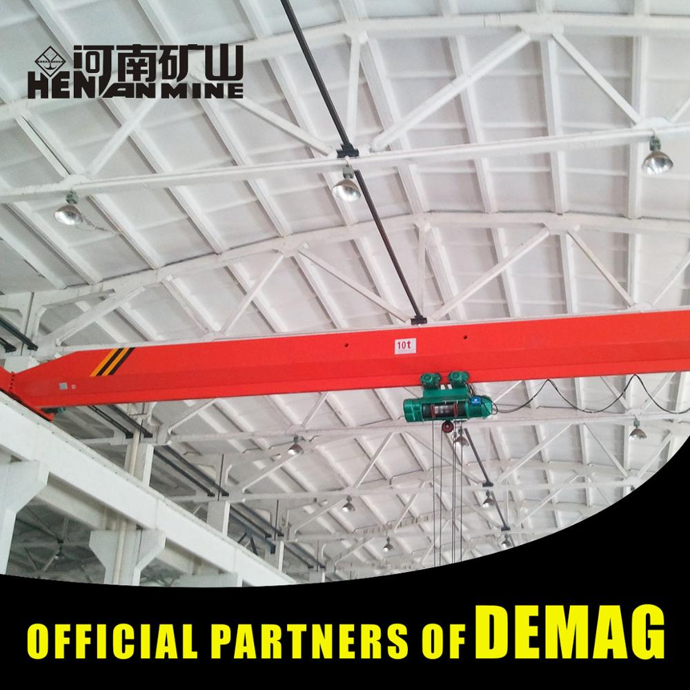 5 10 Ton Overseas Service Single Track Light Duty Rail Bridge Crane Manufacturer From China