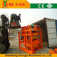 China factory manufaturing low cost hollow block making machine philippines hot sale