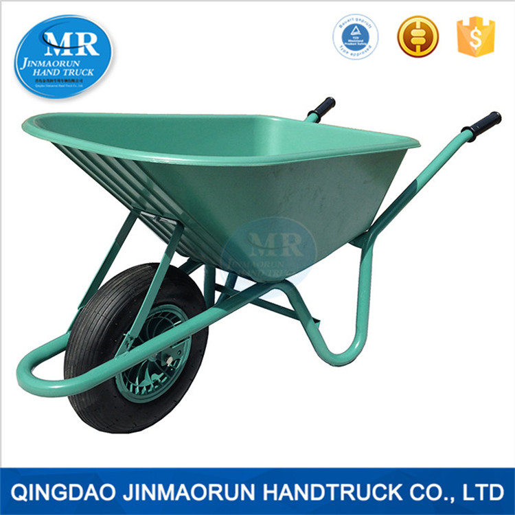 High quality Plastic concrete wheel barrow wb6414 factory price wheelbarrow