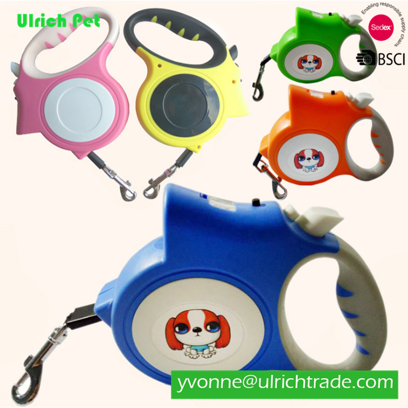DM036 High Quality Waterproof Auto Retractable 5M Hands Free Dog Leash