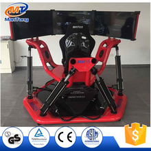 360 degree flight simulation motion platform 3D car racing driving simulator for sale