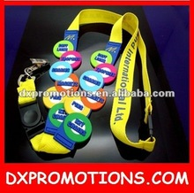 2012 decorative lanyard/popular decorative lanyards
