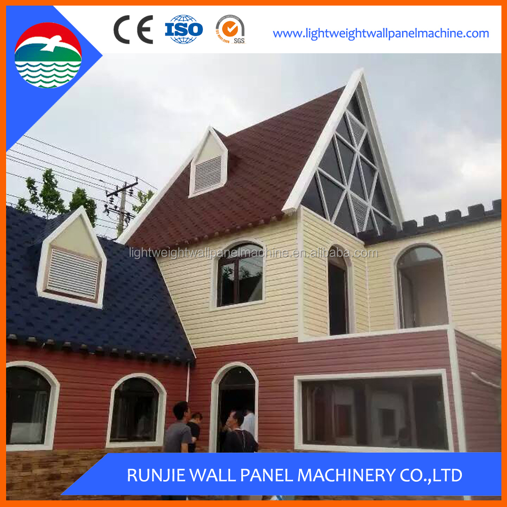 Low Cost 2 Story Steel Frame Prefabricated House for Sale