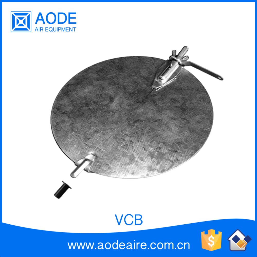 Branch take off damper blade the air duct work accessories of Volume Control in HVAC system, VCB air conditioning accessories