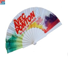 Promotional Factory Plastic Foldable hand fans customized