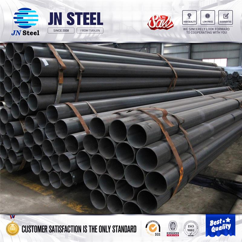 chinese trading company welded round steel pipe 2 inch carbon steel pipe