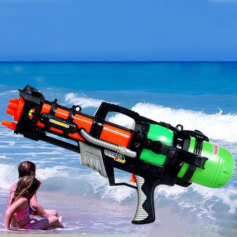 Toy Gun New Products 2017 Hot Seller Kids Air Pressure Long Range Spray Plastic Big Water Gun