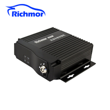 4 channel AHD 720P SD card Mobile DVR with GPS 3G 4G WIFI optional