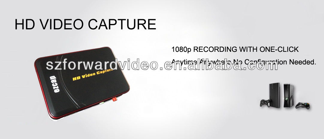 HD Video Capture,1080P,NO PC required,HD game capture,game capture,game grabber-ezcap280