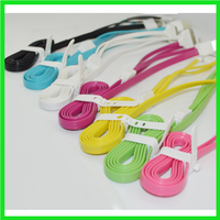 Factory price for colorful micro usb cable, usb charging cable and data transmission cable