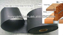 (GOOD QUALITY ) SHANDONG HUIYUAN emossed poly damp proof course for wall used