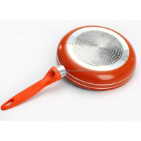 Kitchen appliances aluminum fry pan non stick with induction base